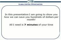 GVO Cam V3 3/3/10
