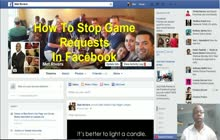 How To Stop Game Requests In Facebook