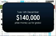 16th dec 140000 prize money
