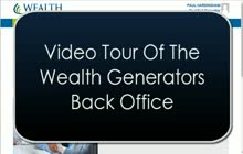 back office tour for wealthgen