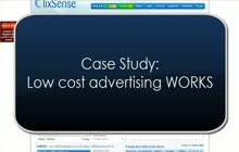 clixsense advertising works 1 dollar 67 per lead