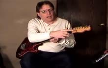 String changing guitar tr23