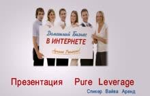 краткая презентация проекта Pure Leverage