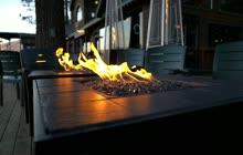 3 Firepits Background video for slider