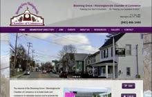 How to USe the Bloomingrove Chamber Site