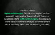 Sunglass Trends