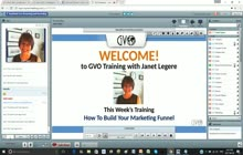 GVO Academy with Janet Legere